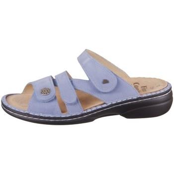 Schoenen Dames Leren slippers Finn Comfort Ventura S Bleu