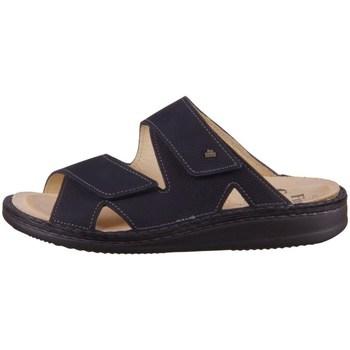 Schoenen Heren Leren slippers Finn Comfort Danzig S Noir