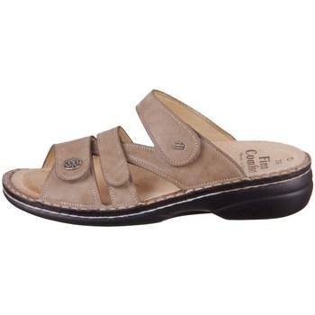 Schoenen Dames Leren slippers Finn Comfort Ventura S Beige