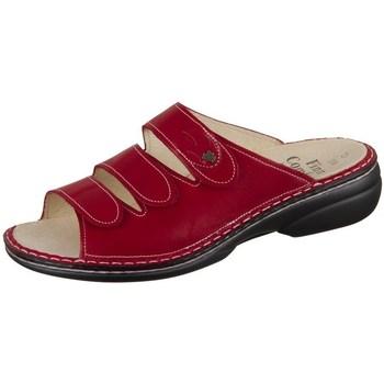 Schoenen Dames Leren slippers Finn Comfort Kos Rouge, Bordeaux