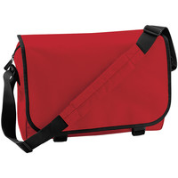 Tassen Jongens Schooltassen Bagbase BG21 Klassiek rood