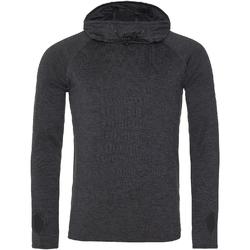Textiel Dames Sweaters / Sweatshirts Awdis JC037 Zwarte leisteenmelange