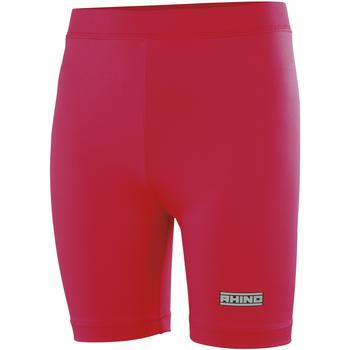 Textiel Dames Korte broeken / Bermuda's Rhino RH10B Rood