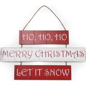 Wonen Feestelijke decoraties Christmas Shop (59 x 36 cm) RW3840 Rood / Wit