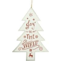 Wonen Feestelijke decoraties Christmas Shop RW5076 Witte Vreugde