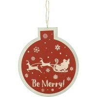Wonen Feestelijke decoraties Christmas Shop RW5077 Rood zijn Vrolijk