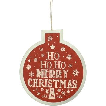 Wonen Feestelijke decoraties Christmas Shop RW5077 Red Ho Ho Ho