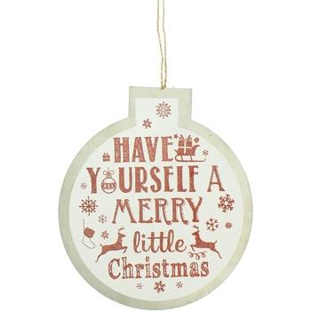 Wonen Feestelijke decoraties Christmas Shop RW5077 Witte Vrolijk