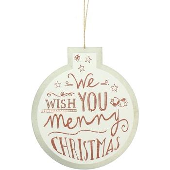 Wonen Feestelijke decoraties Christmas Shop RW5077 Witte Wens