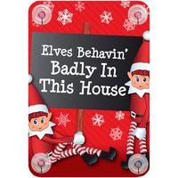 Wonen Feestelijke decoraties Christmas Shop RW6420 Elfen die zich slecht gedragen in dit huis