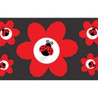 Wonen Stickers Creative Converting Taille unique Rood/zwart