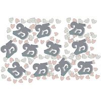Wonen Stickers Amscan Taille unique Zilver