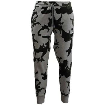 Textiel Heren Leggings Nike Camouflage Jogginghose Noir, Gris, Vert