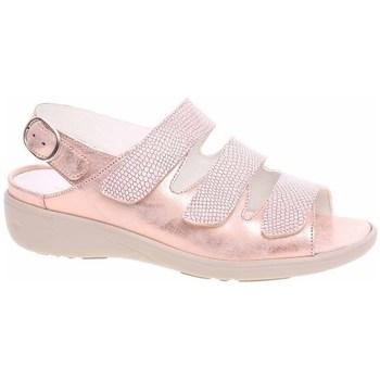 Schoenen Dames Sandalen / Open schoenen Waldläufer 684002200139 Doré, Beige