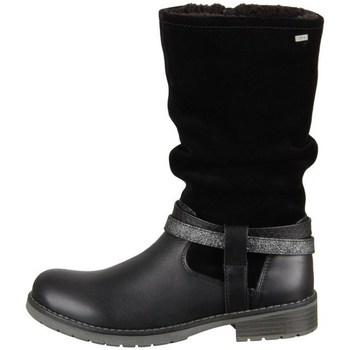 Schoenen Meisjes Hoge laarzen Lurchi Lia Noir