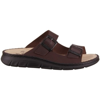 Schoenen Heren Leren slippers Finn Comfort Cayman S Marron