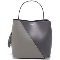 Tassen Dames Handtassen kort hengsel Victor & Hugo TYRA GRIS CLAIR / GRIS FONCE