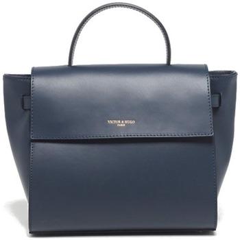 Tassen Dames Handtassen kort hengsel Victor & Hugo PRIM BLEU