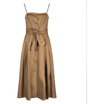 Textiel Dames Lange jurken EAX  Beige