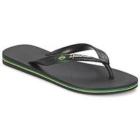 Schoenen Dames Slippers Ipanema CLASSICA BRASIL II Zwart