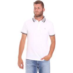 Textiel Heren Polo's korte mouwen Trussardi 52T00491-1T003600 Wit