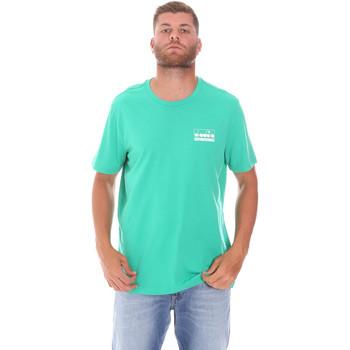 Textiel Heren T-shirts korte mouwen Diadora 502175837 Groen