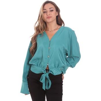 Textiel Dames Overhemden Gaudi 111BD45031 Groen