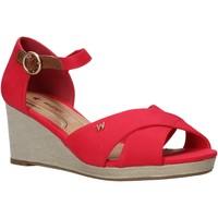 Schoenen Dames Sandalen / Open schoenen Wrangler WL01520A Rood