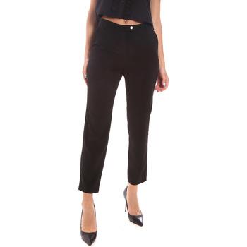 Textiel Dames Broeken / Pantalons Gaudi 111BD25029 Zwart