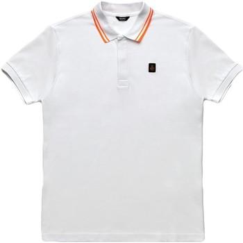 Textiel Heren Polo's korte mouwen Refrigiwear RM0T24000PX9032 Wit