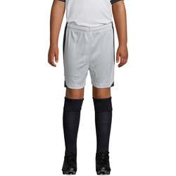 Textiel Jongens Korte broeken / Bermuda's Sols OLIMPICO KIDS pantalón corto Blanco