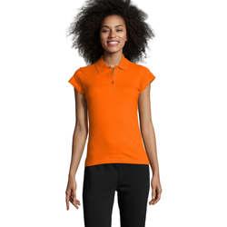 Textiel Dames Polo's korte mouwen Sols PRESCOTT POLO MUJER Naranja
