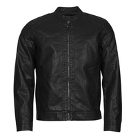 Textiel Heren Leren jas / kunstleren jas Only & Sons  ONSMIKE Zwart