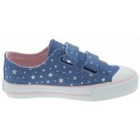 Schoenen Meisjes Lage sneakers MTNG ZAPATILLAS VELCRO NIÑA MUSTANG 47289 Blauw