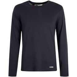 Textiel Heren T-shirts met lange mouwen Bikkembergs  Blauw
