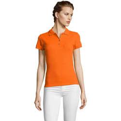 Textiel Dames Polo's korte mouwen Sols PEOPLE POLO MUJER Naranja