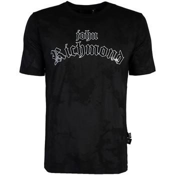 Textiel Heren T-shirts korte mouwen John Richmond  Zwart