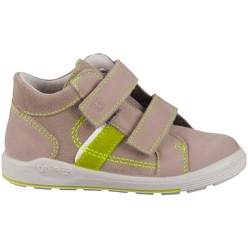 Schoenen Kinderen Lage sneakers Ricosta Laif Vert, Beige