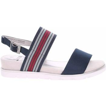 Schoenen Dames Sandalen / Open schoenen Jana 882820826805 Bleu marine