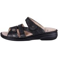 Schoenen Dames Leren slippers Finn Comfort Ventura Noir