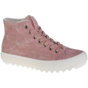 Schoenen Dames Laarzen Big Star EE274113 Rose