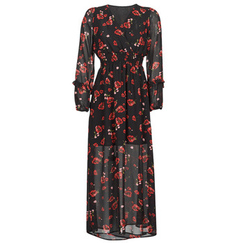 Textiel Dames Lange jurken Moony Mood PILAF Zwart / Rood