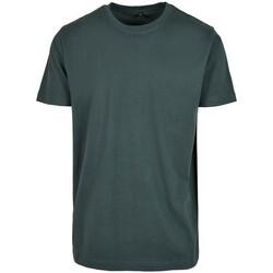 Textiel Heren T-shirts korte mouwen Build Your Brand BY004 Fles groen