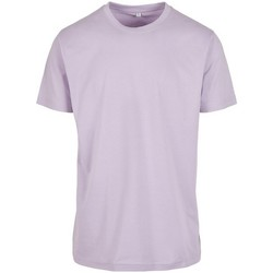 Textiel Heren T-shirts korte mouwen Build Your Brand BY004 Lila