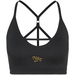 Textiel Dames Sport BHs Nike Indy Strappy Zwart