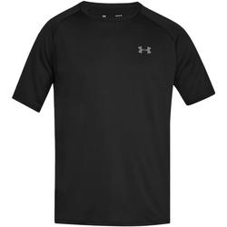 Textiel Heren T-shirts korte mouwen Under Armour UA005 Zwart/Licht Grafiet
