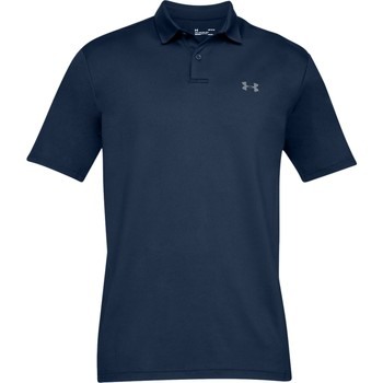 Textiel Heren Polo's korte mouwen Under Armour UA006 Donkere marine / grijs