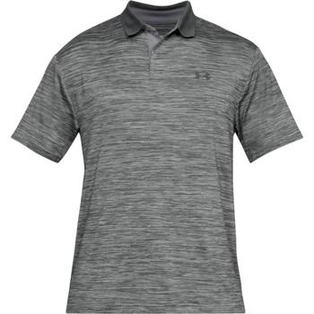 Textiel Heren Polo's korte mouwen Under Armour UA006 Staal Grijs/Zwart