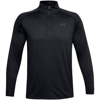 Textiel Heren T-shirts met lange mouwen Under Armour UA004 Zwart/Koolgrijs