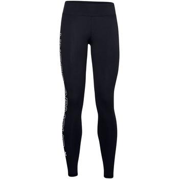Textiel Dames Leggings Under Armour UA027 Zwart/Wit